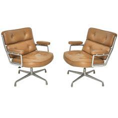 Time Life chairs designed by Charles Eames for Herman Miller.