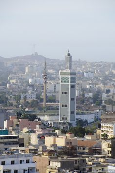 Mosque, Dakar, Senegal, West Africa.  #Dakar return ticket from $595 exclusively on #AirConcierge