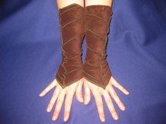 Pixie arm warmer Leaf cuffs