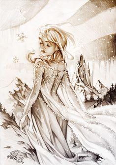But my Heart isn't Frozen by Naschi.deviantart.com on @DeviantArt
