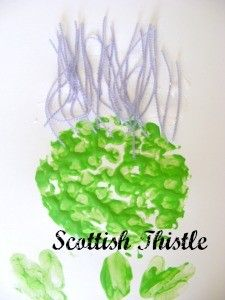 Thistle flower craft – monkey and mouse – Artsupplies Burns Night Activities, Burns Night Crafts, Toddler Crafts, Preschool Crafts, Crafts For Kids, Nursery Activities, Art Activities, Harvest Festival Crafts, Scottish Thistle