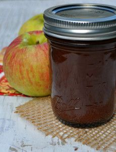 Overnight Apple Butter - This easy apple butter recipe is a great way ...