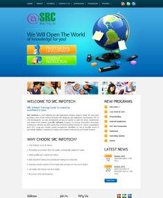 srcinfotech is the India's number one company of website designing and redesigning company in Noida.