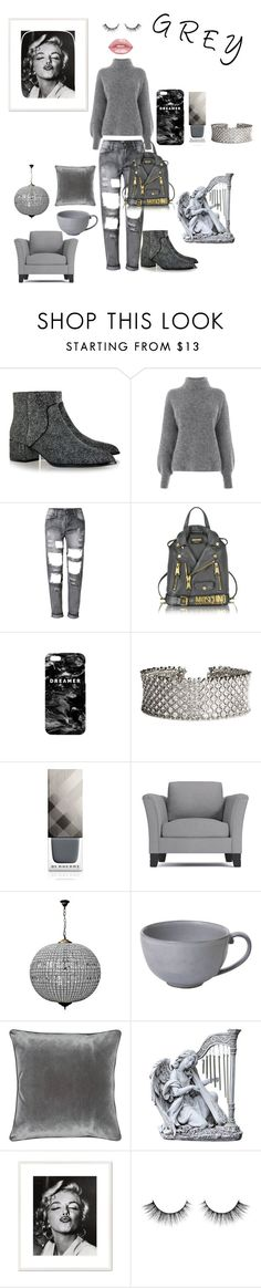 """""""Untitled #171"""" by polaroidandfashion ❤ liked on Polyvore featuring Senso, Warehouse, Moschino, Mr. Gugu & Miss Go, Burberry, Juliska, M&Co and 1000Museums"""