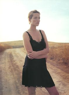 Tatjana Patitz by Cliff Watts - Elle UK Dec. 1995