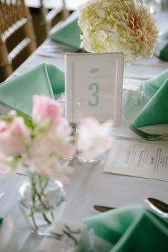 Photography: heidi-o-photo - heidiophoto.com  Read More: http://www.stylemepretty.com/california-weddings/2014/04/26/aqua-and-pink-california-wedding-at-bali-hai-restaurant/