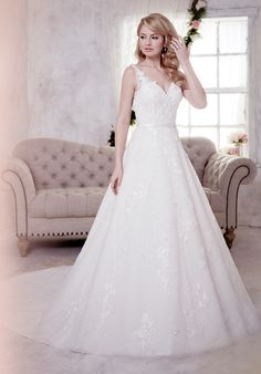 Christina Wu Brides 15607 A-Line Wedding Dress