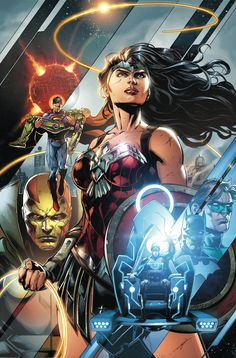 DC's July 2015 DC UNIVERSE Solicits, Part 1 - CYBORG, JUSTICE LEAGUE, More | Newsarama.com