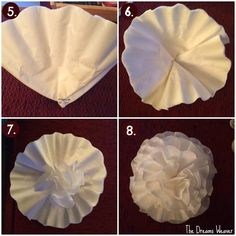 Coffee Filter Flowers~ The Dreams Weaver