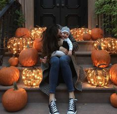 Liv Tyler Will Give You Serious Halloween Decorating Goals via Brit + Co.