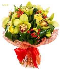 """Букет из орхидей """"Любовный гипноз"""""""