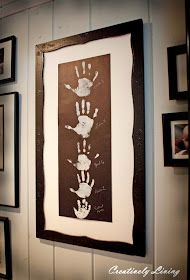 Creatively Living: Gallery Wall Kid Art (With the Kids Wednesday #4)
