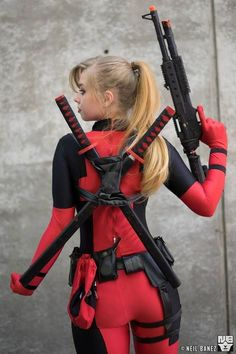 Tagged with deadpool, sexy cosplay, hot girls, gender bender, cosplay girls; Deadpool Cosplay, Lady Deadpool, Female Deadpool Costume, Deadpool Facts, Deadpool Pikachu, Comic Con Cosplay, Costumes Comic Con, Anime Cosplay, Marvel Costumes