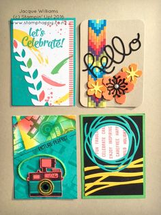 Stampin UP Project Life make your own PL swap