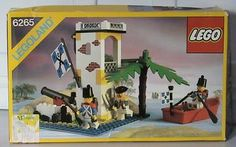 Lego 6265 - Sabre Island - 1990