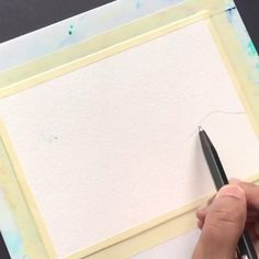 Easy Landscape Paintings, Small Canvas Paintings, Scenery Paintings, Easy Canvas Art, Watercolor Art Lessons, Watercolor Paintings For Beginners, Watercolor Scenery, Watercolour, Art Drawings Sketches Simple