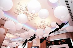 Matteo's Peter Pan Themed Party – Ceiling Details