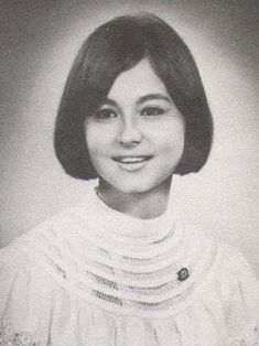 Isabel Preysler, Spanish-Filipino socialite, graduated high school from the Assumption Convent in Makati in the 1960s. #kasaysayan #HERstory #pinoy #classpicture Class Pictures, Back In Time, Makati, Pinoy, Filipino, 1960s, Spanish, High School, Magazine