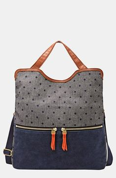 Fossil 'Erin' Foldover Tote available at #Nordstrom...fold ... me..... over