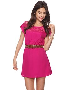 I'm obsessed with the color pink.. but this dress is wonderful.