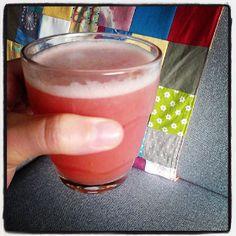 Ma vie en vert: Suikervrijheid: rabarber-framboos-aardbei-limonade