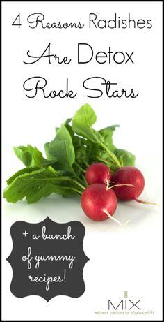 Four Reasons Radishes Are Detox Rock Stars   www.mixwellness.com