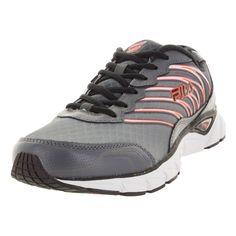 Fila Men's Countdown Dkslv/Black/Red Orange Running Shoe