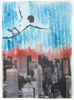 Original Travel Painting by Pia Lilenthal First Superman, Superman Hero, Original Travel, Original Art, Original Paintings, Conceptual Art, Medium Art, Travel Style, Buy Art