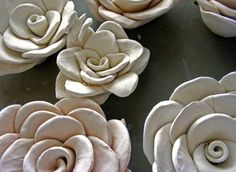 Clay Projects For Middle School Clay flowers, artist is an