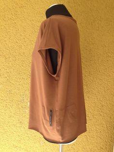 upper palatinate rocks: WOMEN 2014 boxy shirt brown, UPRpatch
