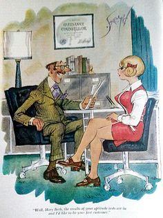 1960's Playboy comic strip.