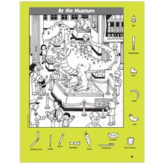 This Hidden Pictures book features classic black-and-white puzzles in a variety of art styles, so there's something for everyone. Highlights Hidden Pictures, Highlights Kids, Hidden Pictures Printables, Serbian Language, Hidden Picture Puzzles, Dinosaur Puzzles, Search And Find, Hidden Objects, Puzzle Books