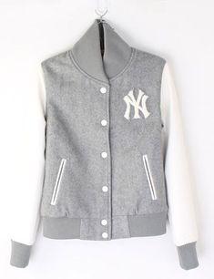 Girls NY Yankee Baseball jacket ...... wanna grasp it >