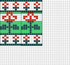 Ravelry: Red roses chart pattern by Sandra Jäger