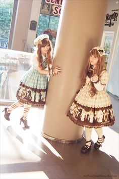 """Twinning"" trend in lolita as a way to understand the dynamic between Pei Ling and Pei Ling'(the inner filter)"