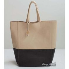 Large leather tote, leather tote bag for women Bagswish.com