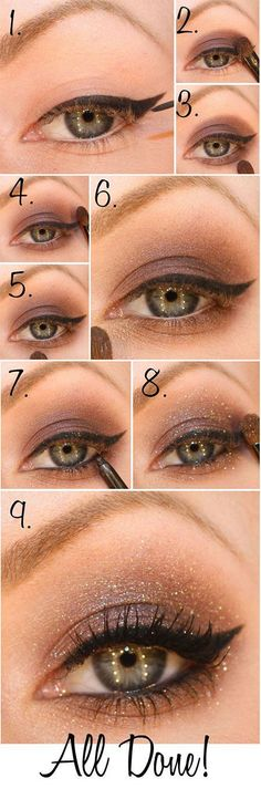 Trendy Vintage Makeup Eyeliner Eyes Ideen - Prom Makeup Looks Beautiful Eye Makeup, Pretty Makeup, Love Makeup, Makeup Tips, Makeup Ideas, Amazing Makeup, Eye Makeup Tutorials, Make Up Tutorials, Simple Makeup Looks