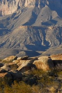 Guadalupe Mountains National Park is in west Texas and has trails perfect for hiking and horse-riding.