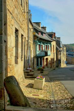 ? Beautiful town of Treguier in the C�tes d'Armor, Brittany, France