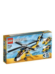 Fantastic offers on Lego Creator sets only at Smyths Toys UK. Buy Lego Creator Online, In Store or use our Click & Collect Service! Lego Creator Sets, The Creator, Toys Uk, Lego Toys, Birthday Gifts For Boys, Birthday Fun, Birthday Ideas, Toys For Boys, Kids Toys