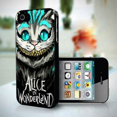 Disney Alice in Wonderland Cheshire Cat design for iPhone 5 case