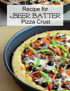 Beer Batter Pizza Crust - A Proverbs 31 Wife