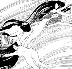 The Blood of Fish by Gustav Klimt
