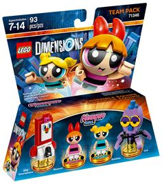 LEGO Dimensions 71346 : Pack Equipe Les Supers Nana
