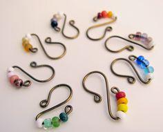 Delights-Gems: Let's Make Stitch Markers!!!                                                                                                                                                     More