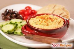 Hummus is traditionally made with chickpeas, but cannellini beans (white kidney beans) yield a fluffy texture and buttery taste. You'll love...
