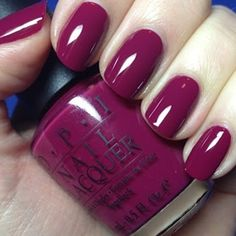 OPI Miami Beet. I like this color.