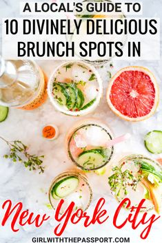 When doing some New York City travel, one of the best New York City things to do is to go out to Brunch. and enjoy the best New York City food. So here are ten amazing New York City brunch spots. to add to your New York City bucket list. #newyork #nyc #brunch #newyorkcity #unitedstates