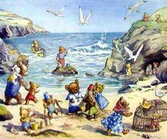 Teddy Bear Beach by Molly Brett