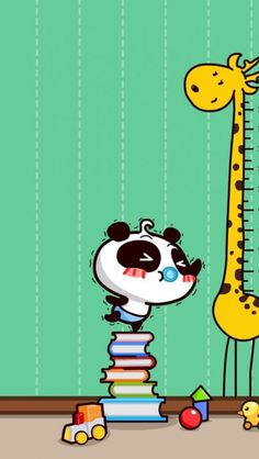 Height is not a problem between us. Nice Wallpapers, Cool Wallpaper, Giraffes, Bart Simpson, Family Guy, Fictional Characters, Fantasy Characters, Giraffe, Griffins